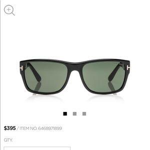 Tom Ford Sunglasses- Men's- mason